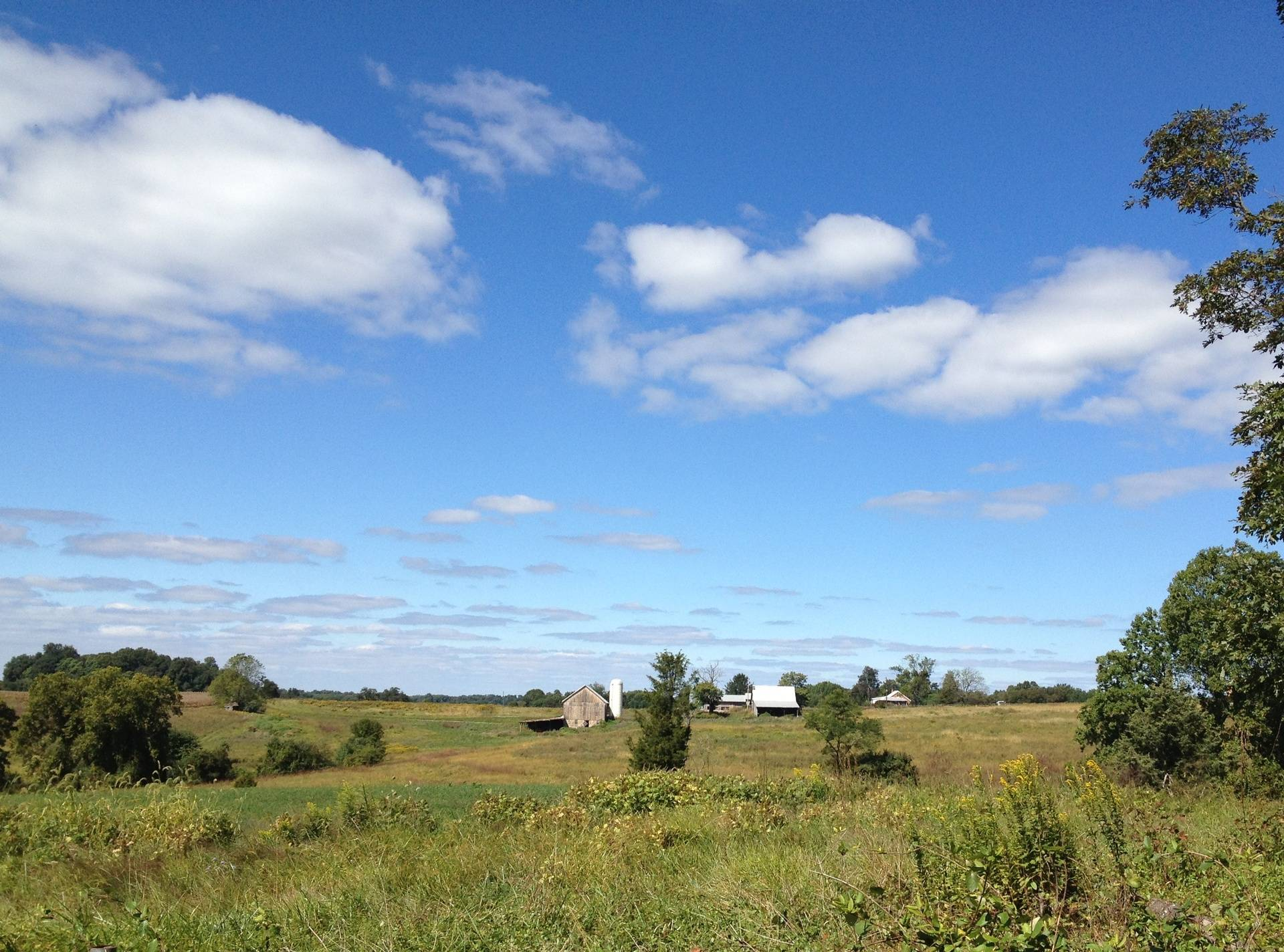 Beautiful Farmhouse Scenic View