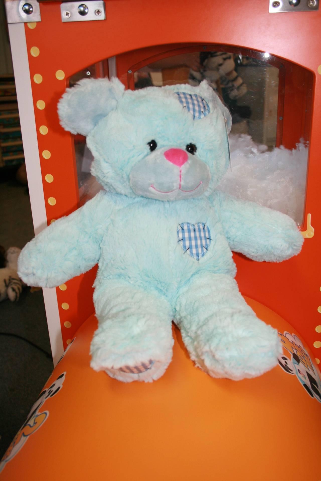 Blue Patch teddy bear