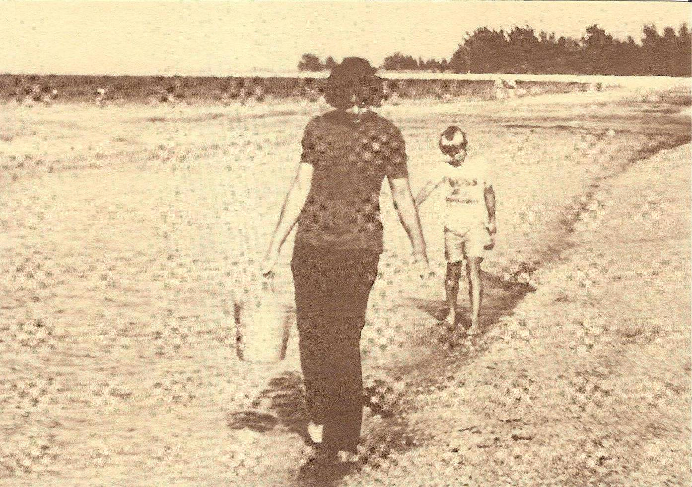 Me, Robby, Marco Island, Florida, 1974