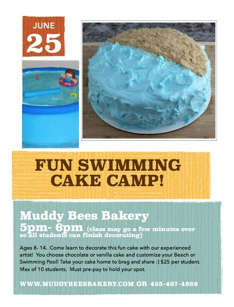June 25 Cake Class