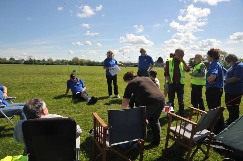 Club H&S Briefing before start