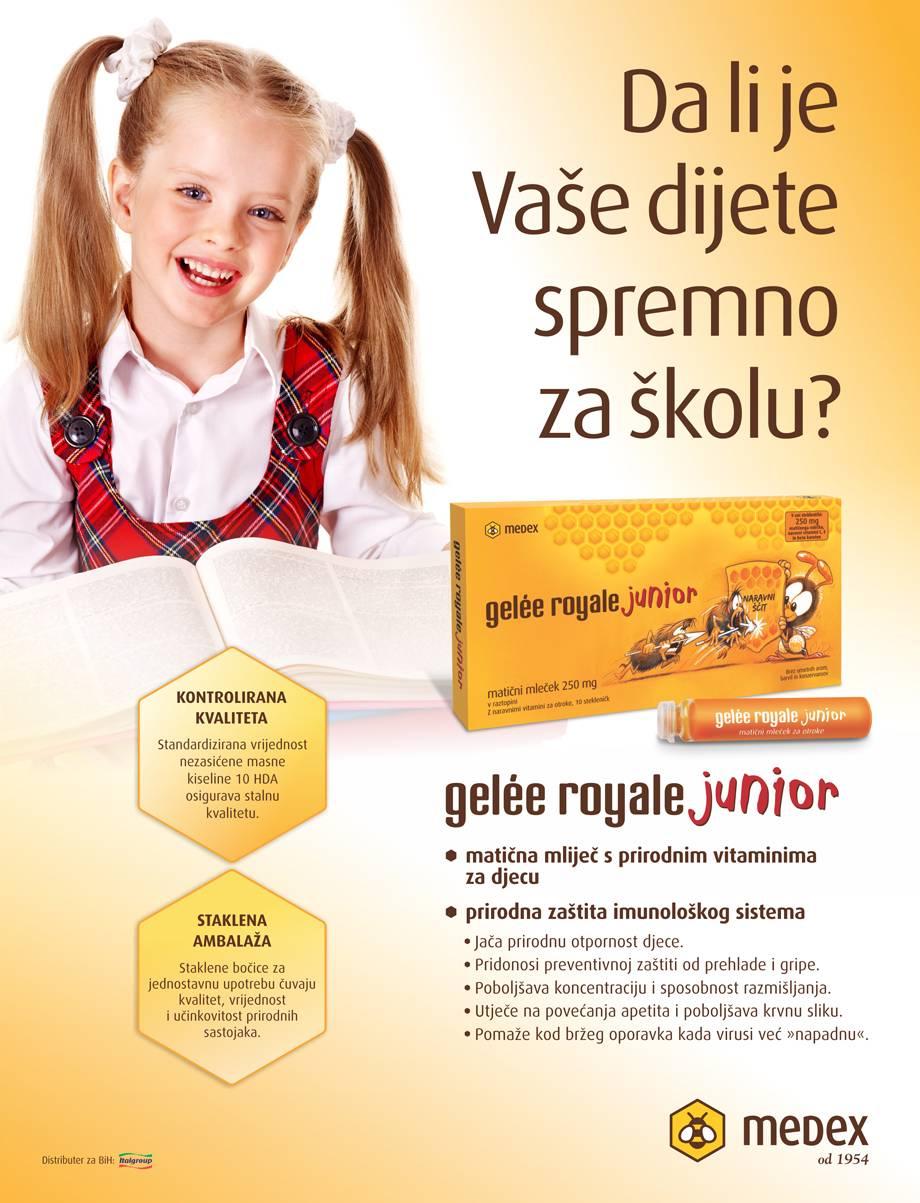 Oglas Gelee Royale