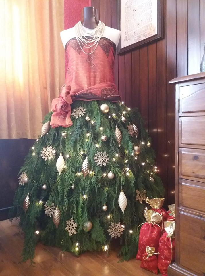 """Celeste"", our alternative Christmas tree."