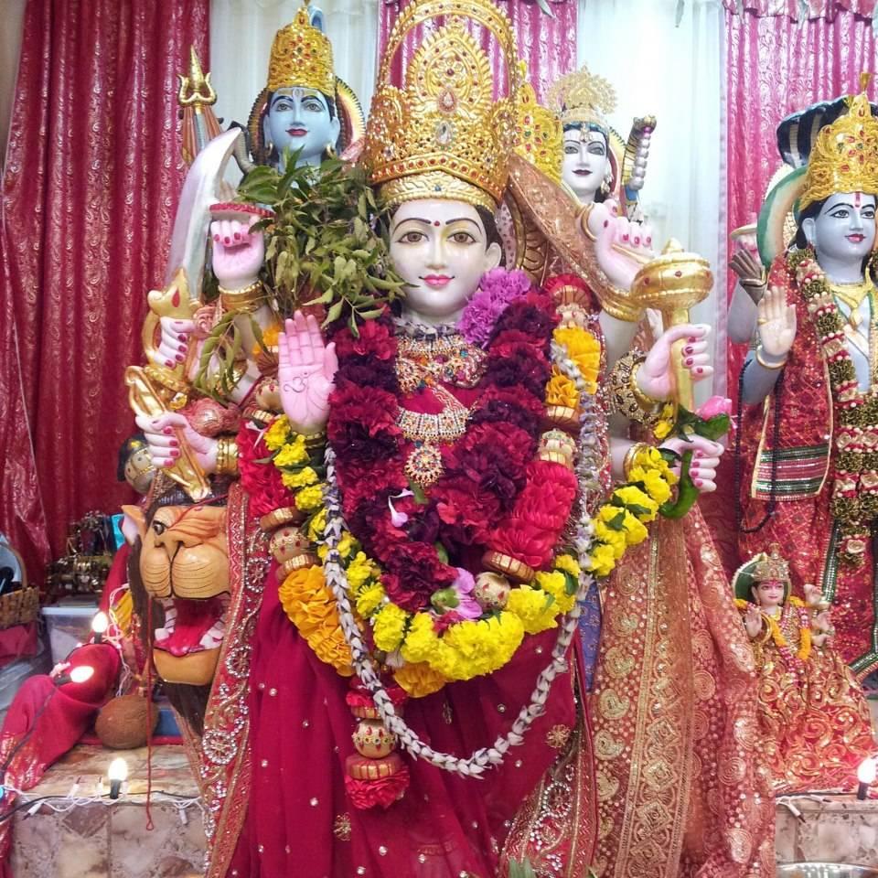 Beautiful Murti of Durga Maa