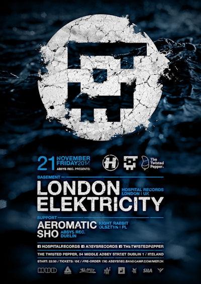 2014.11.21 - London Elektricity - The Twisted Pepper @ Dublin