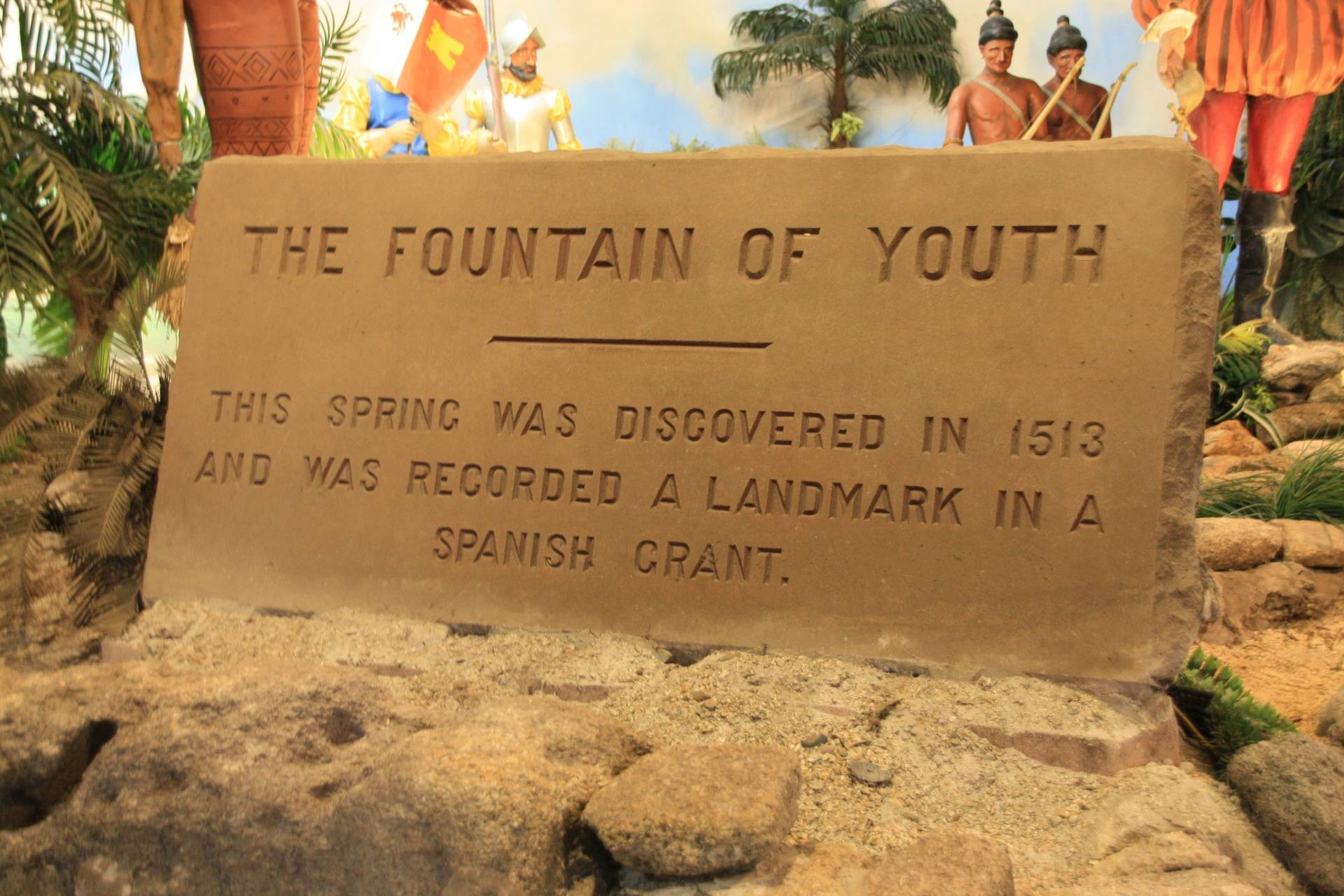 Fountain of Youth, St. Augustine FL