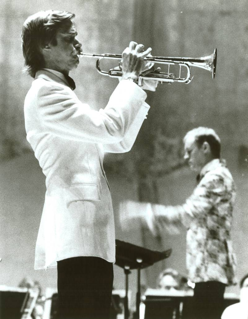 Trumpet Soloist with Goldman Band