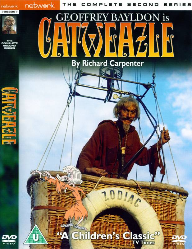 Catweazle - Complete Second Series DVD Set (UK reg. 2 release)