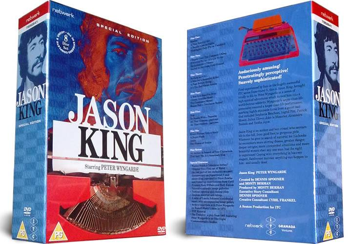 Jason King - The Complete Series DVD Set (UK reg. 2 release)