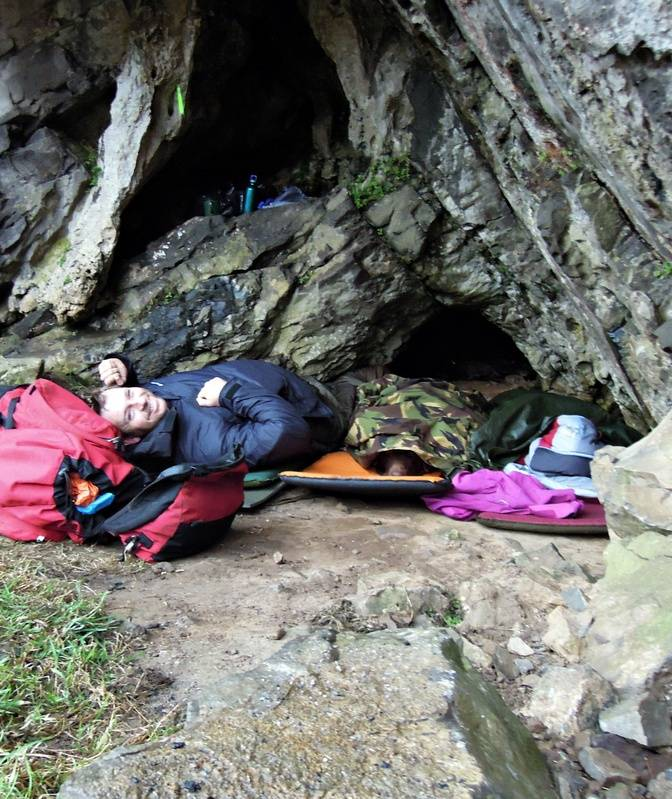 Morning! Day 3, 'home' cave (officially nameless)