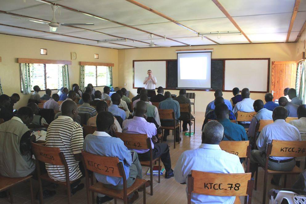 Pastors seminar in progress