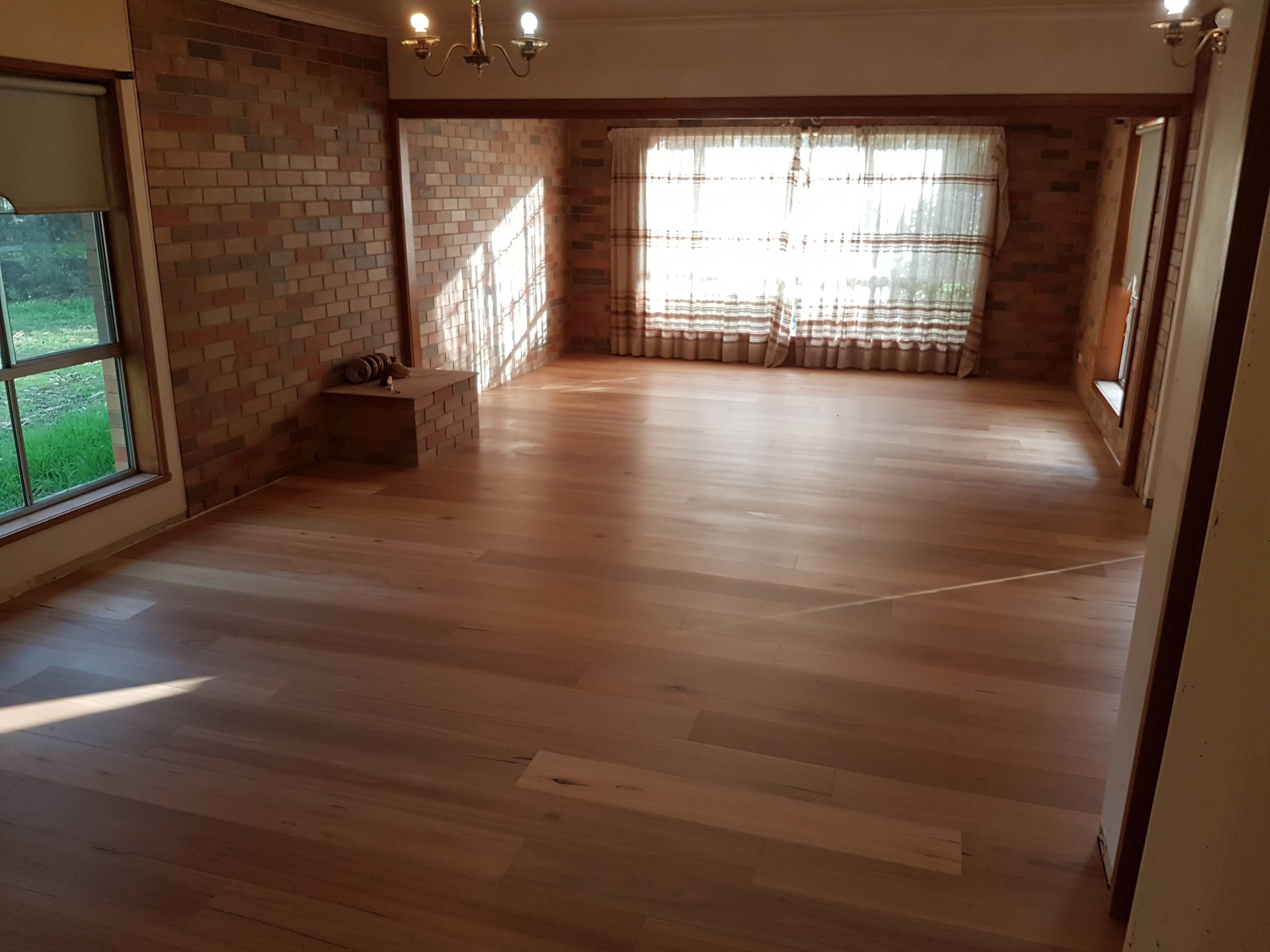 Blackbutt flooring