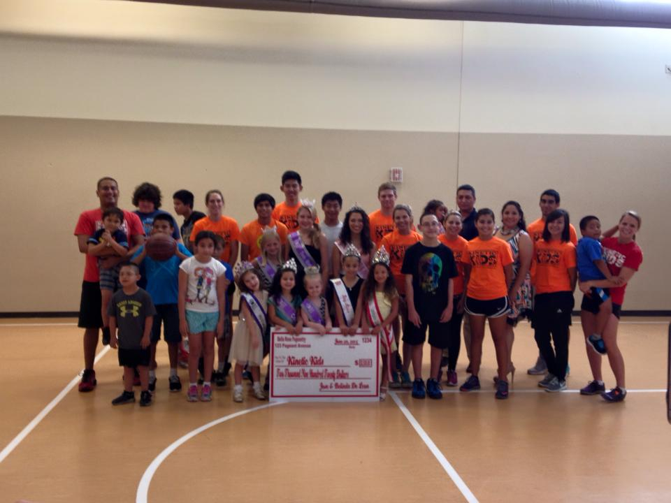 2015 Kenetic Kids Donation Presentation