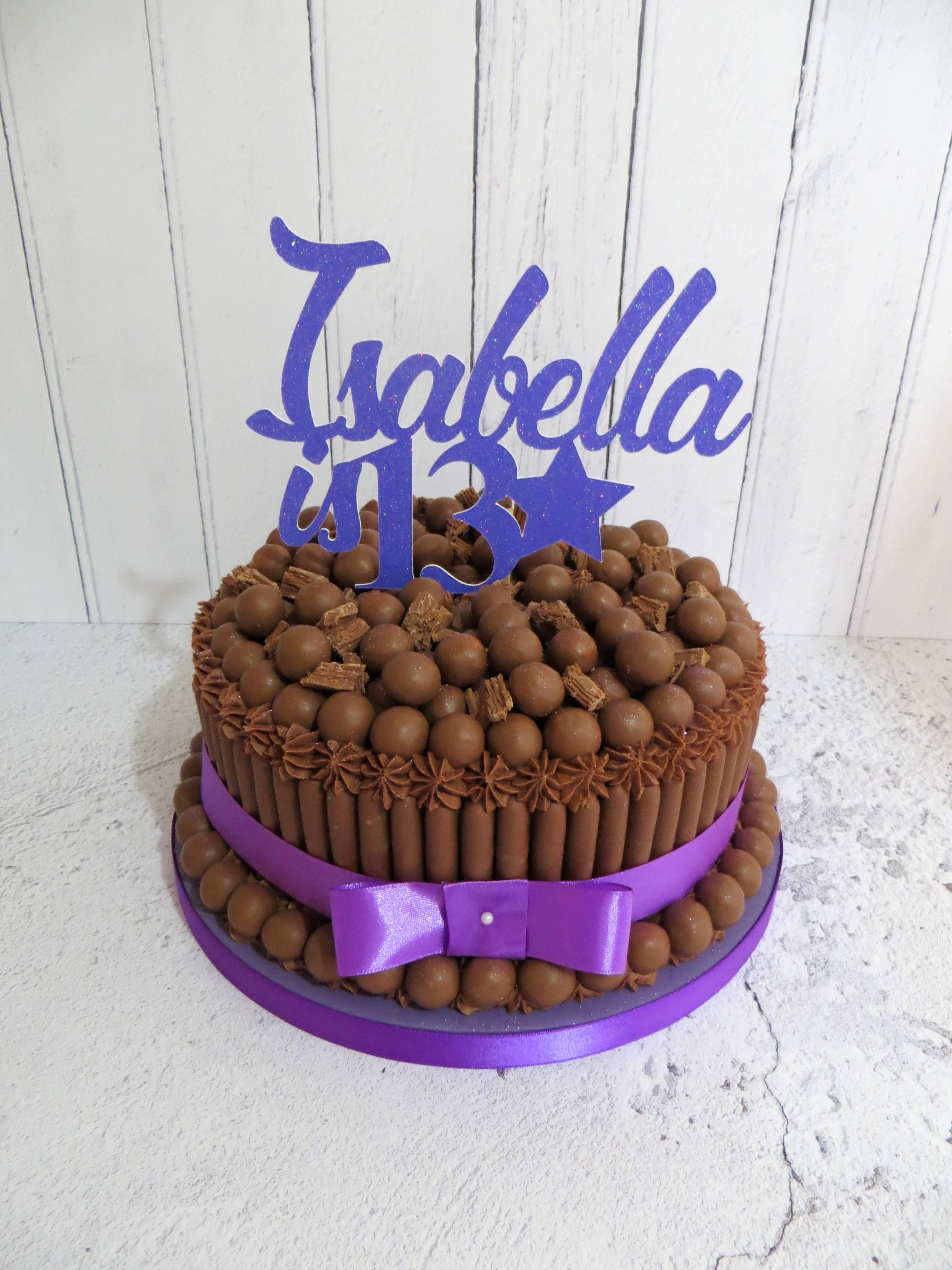 Isabella's 13th Birthday Cake