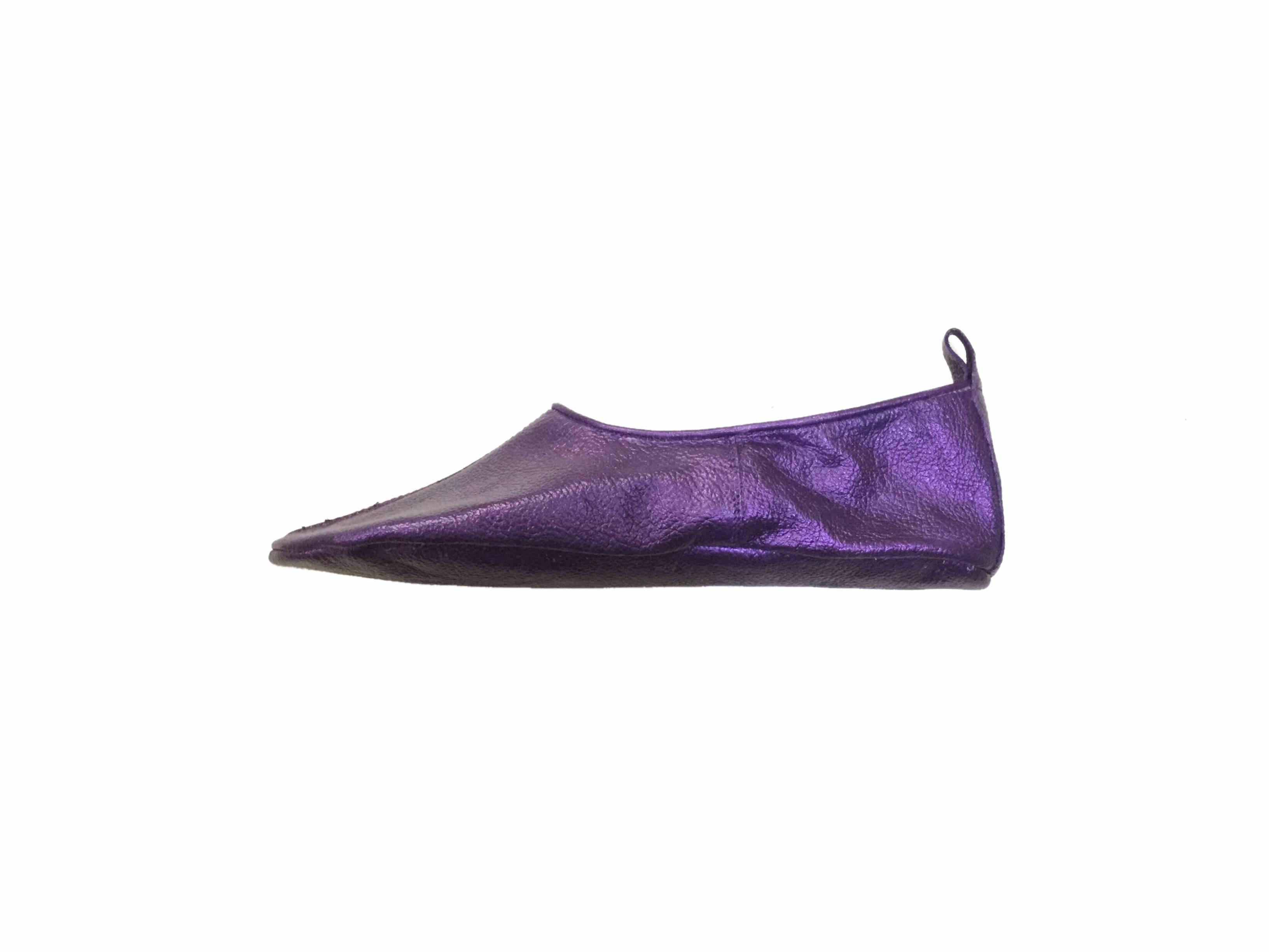 Thaqafah purple metallic Tabi khuff