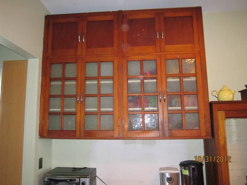 Kitchen cupboard #1.