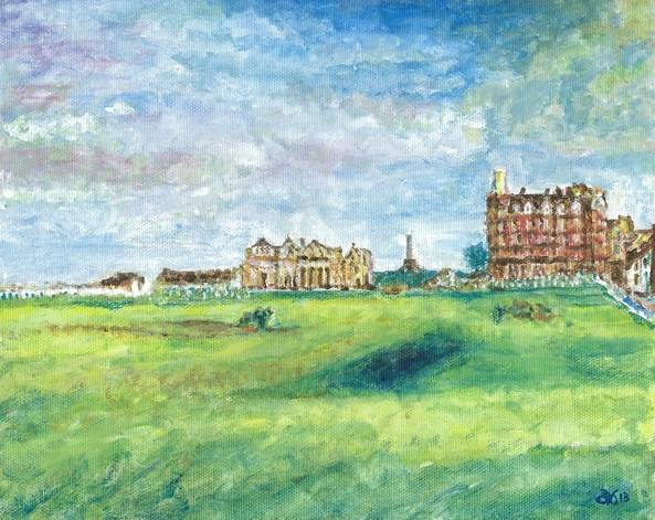 The Old Course - St. Andrews- Scotland