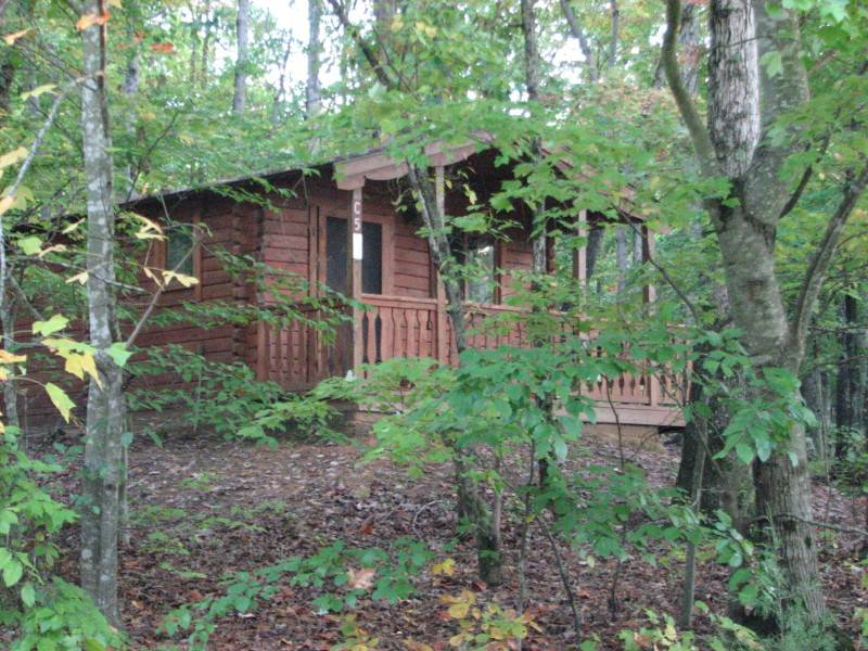 Cane Creek Park Cabin