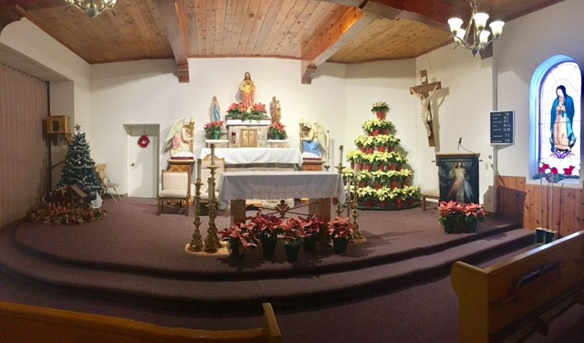 Our Christmas Altar