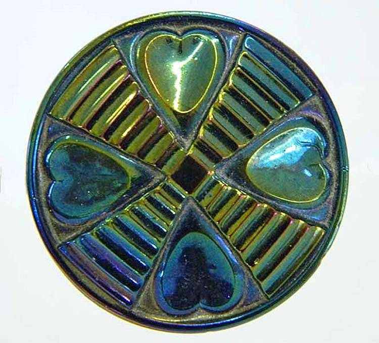 Hearts and Cross hatpin