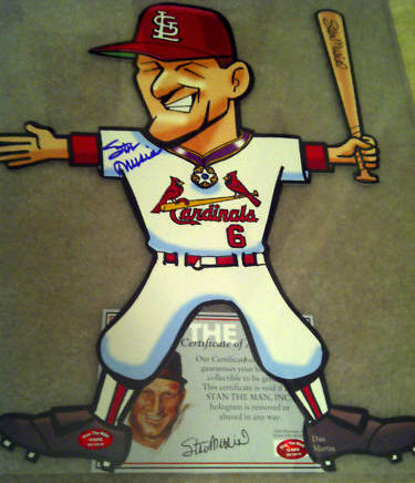 Stan Musial Stand For Stan Autograph STM COA Cardinals