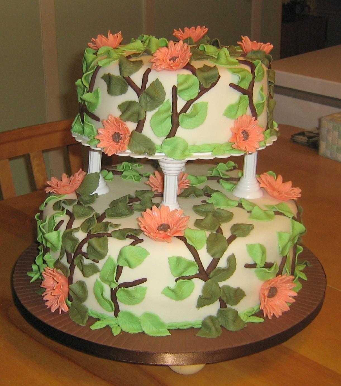 Wedding Cake For D & J