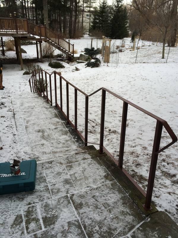 railing in Cayuga Heights