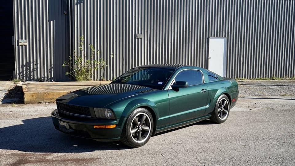 3.08 Mustang Bullitt