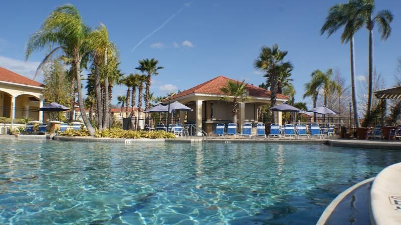 Tikibar near the pool