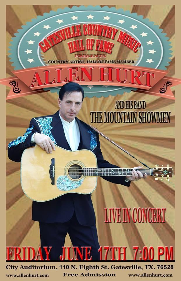 Allen Hurt & The Mountain Showmen June 17, 2016
