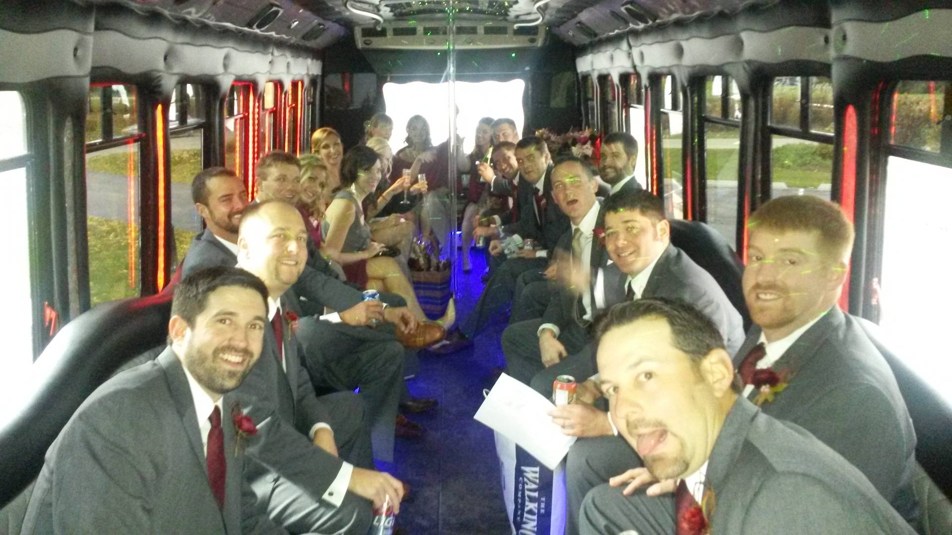 1st Wedding in the #7 Limo BUs