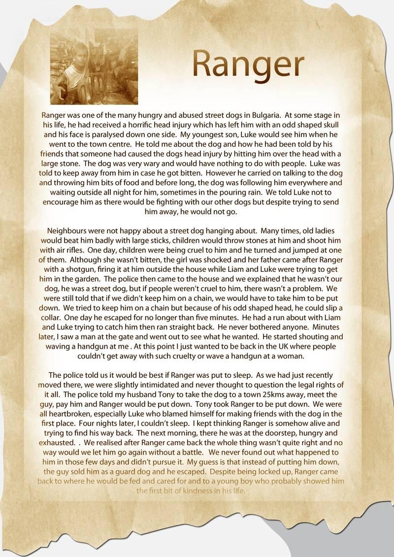 Rangers Story