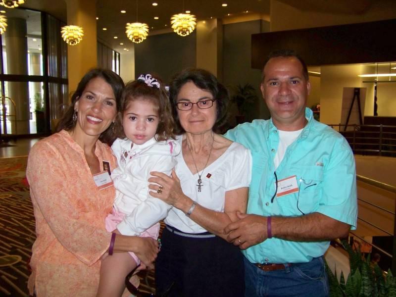 Lisa, Haley, Dr. Charlotte Dravet, and Bobby