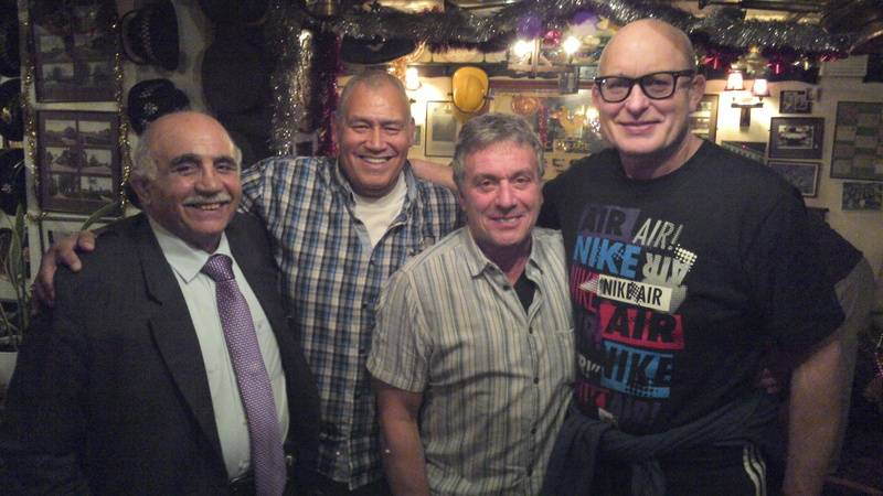 Tony Costas, Johnny Kincaid, Steve Grey, Lee Bronson
