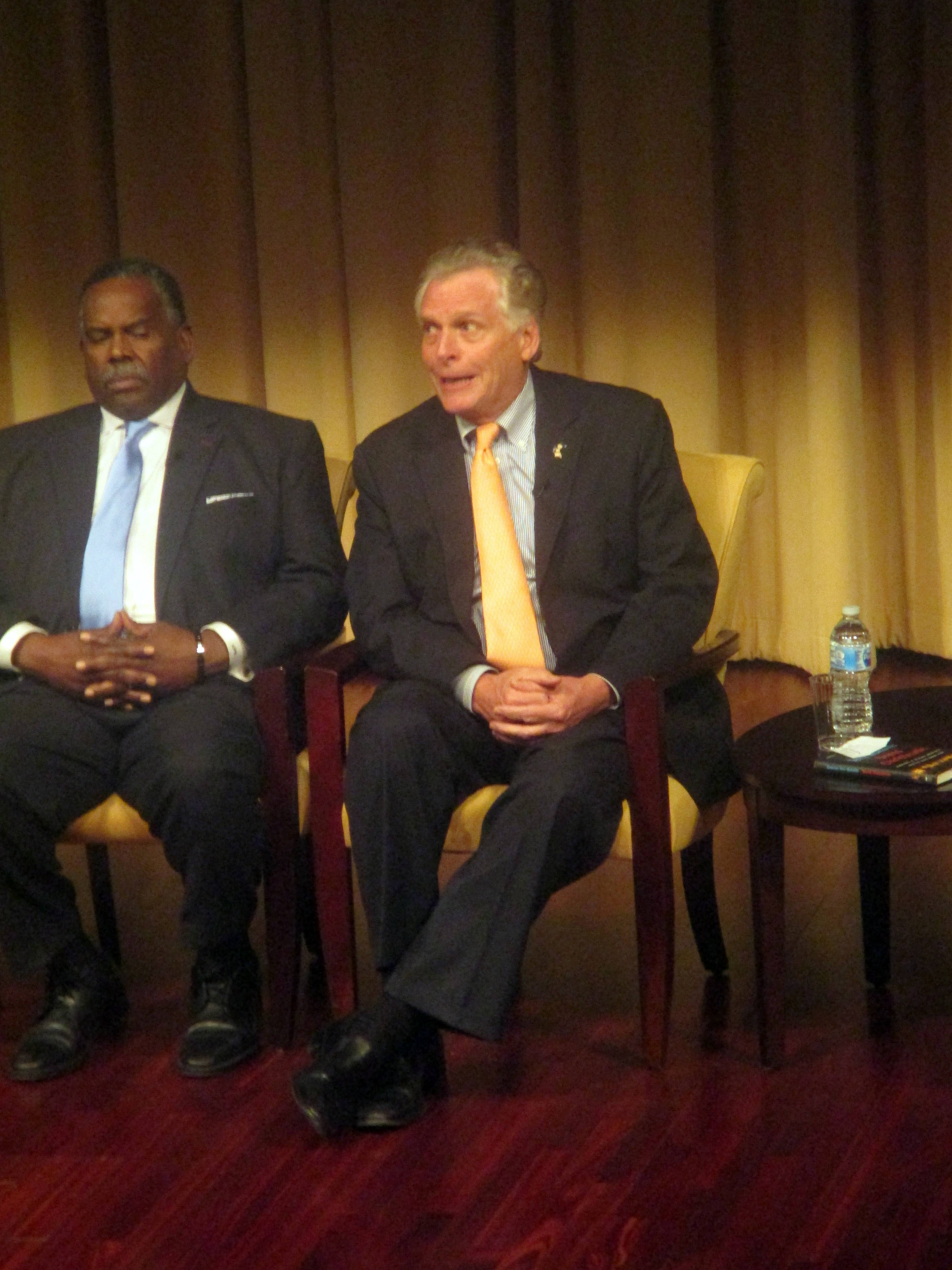 Terry McAuliffe at Beyond Charlottesville at National Archives and Records Administration