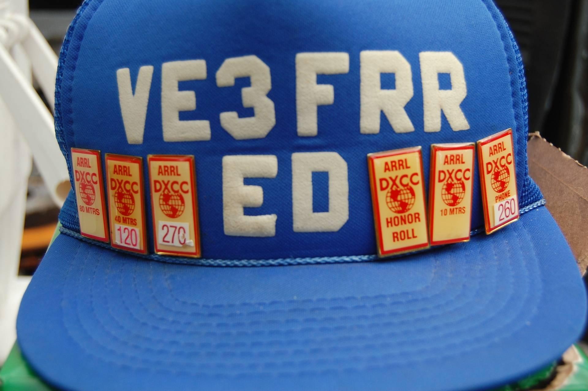 VE3FRR award had.