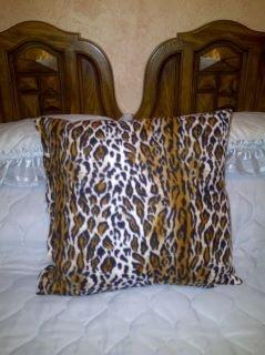 Animal Print Prayer Pillow