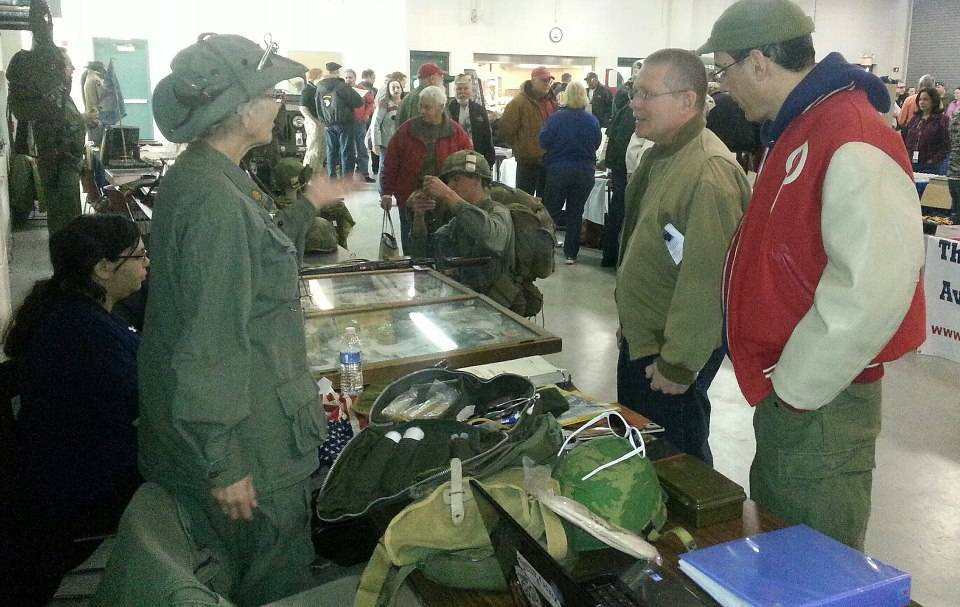 A view of our display vets fair