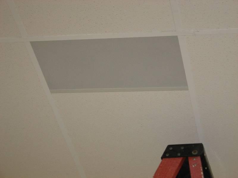 Rectangular Speaker Tile