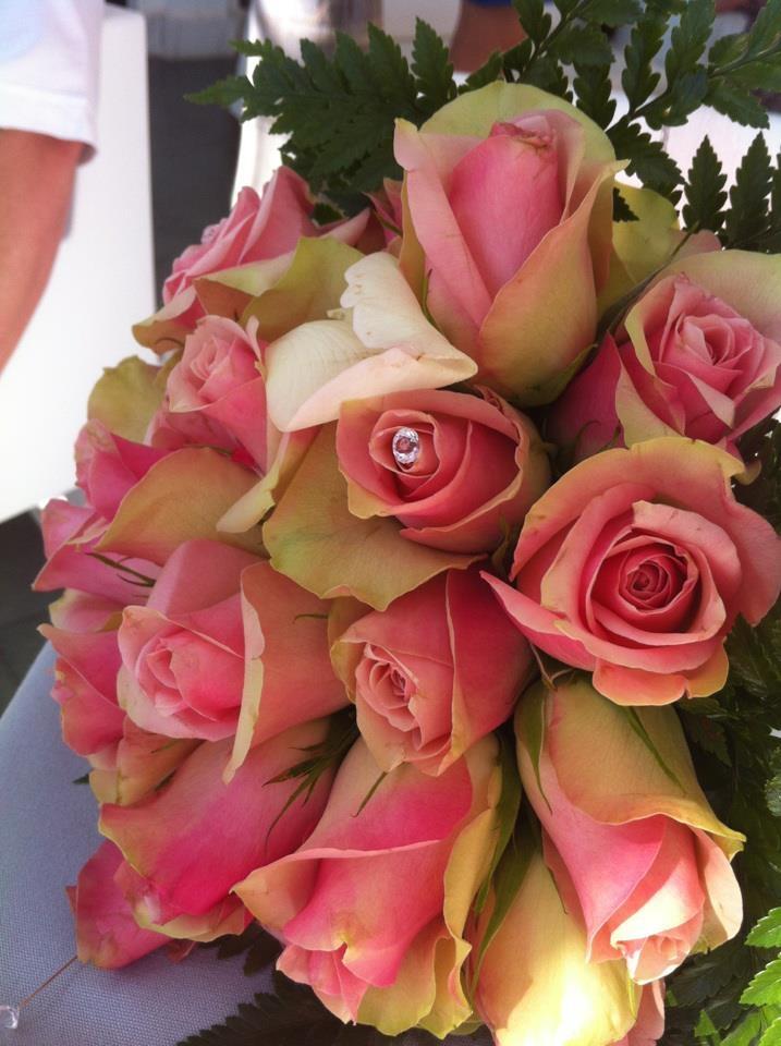 Her bouquet