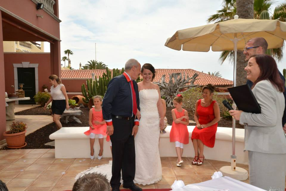 The start of the ceremony