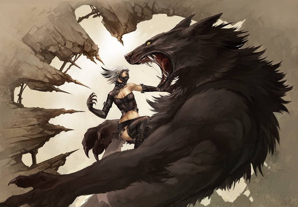 vamp vs werewolf