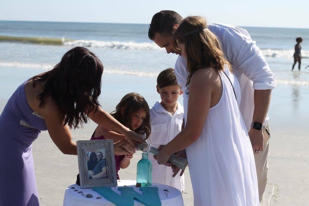 The Watkins Family Sand Ceremony
