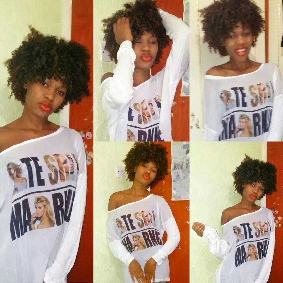 Soniesha Sesay, model/singer - London, UK.