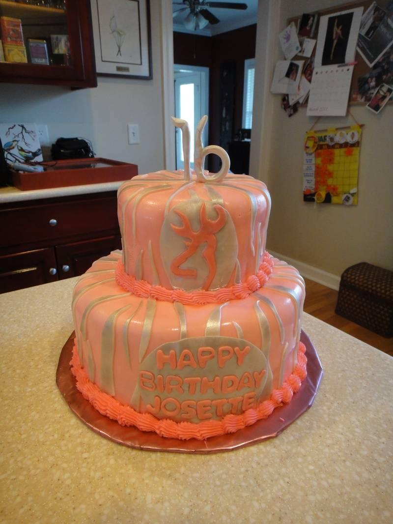 Pink Deer Birthday