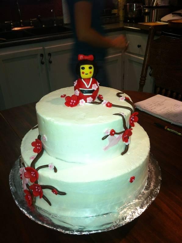 Japanese beauty cake