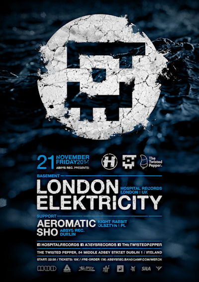 2014.11.21 - London Elektricity - The Twisted Pepper @ Dublin