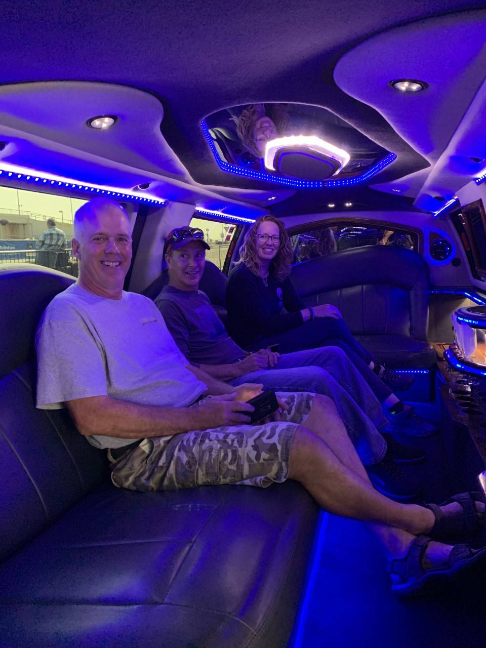 Limo Pick Up for the Judges