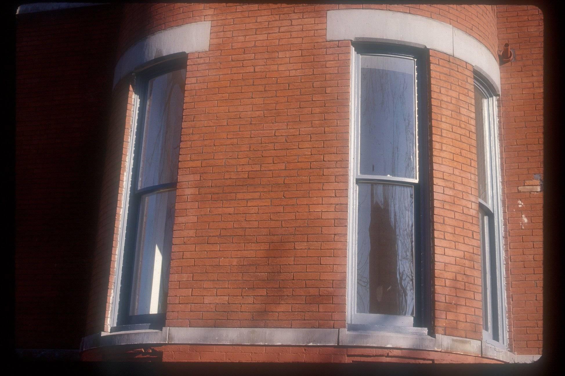 Curved Window Reproduction circa 1870 15 Logan Circle