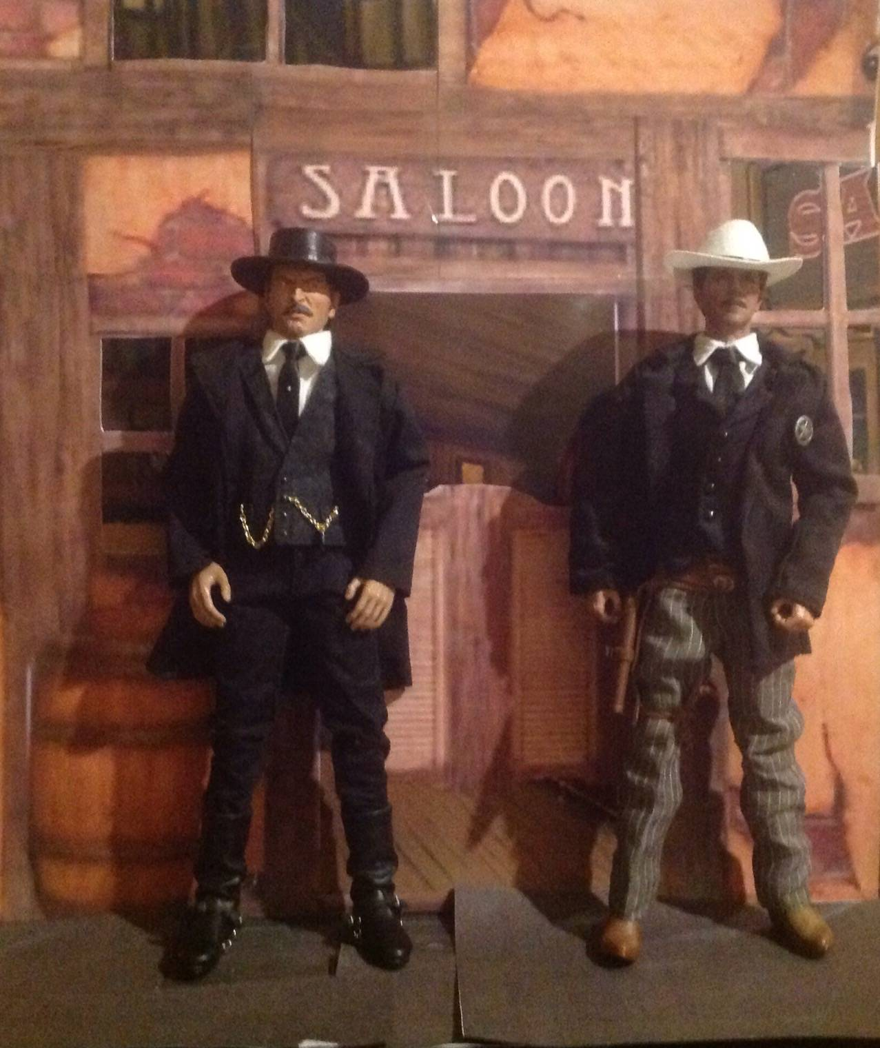 The colonel and the sheriff by W.K.H.